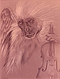 Monkey and Violin