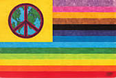 Purchase Peace Items - Flags, Buttons and Cards for sale